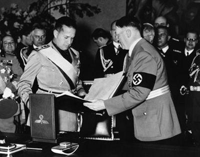 Name:  Ciano and Hitlerrecieving gifts.jpg Views: 845 Size:  28.2 KB