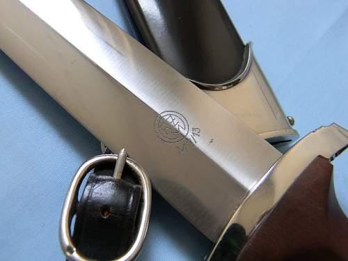salty SA Dagger