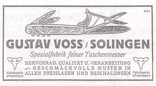 Early SA logo Gustav Voss