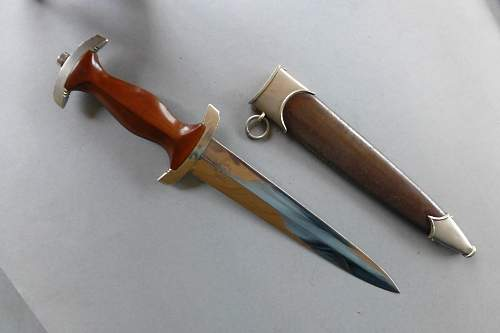 Early SA dagger by Carl Schmidt