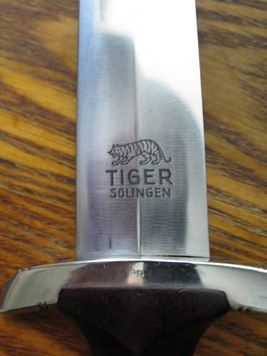 SA Dienstdolch - Tiger