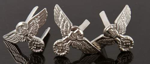 Question about the manufacture of early nickel grip eagles...