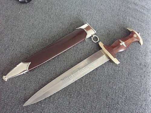 SA-dagger. Good or bad? :)