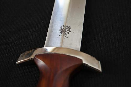 RZM SA Dagger marked 7/2 (Emil Voos) just arrived