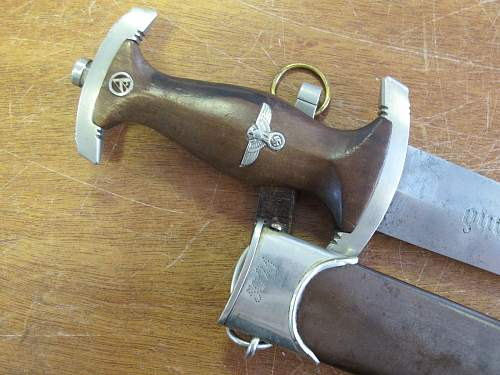 Sa dagger Eduard Vitting...dagger parts??