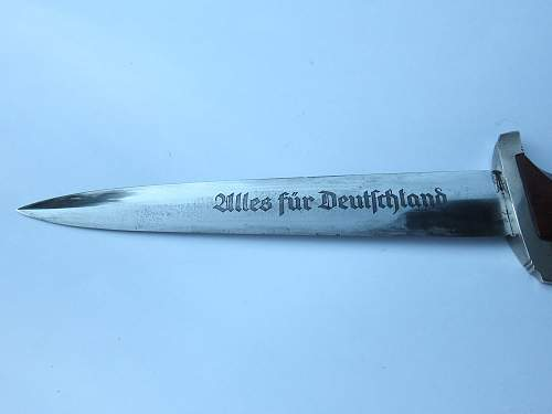 SA Dagger - Karl Malsch Gust. Sohn Steinbach Kr.Mein.