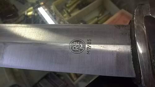 SA Dagger real or fake