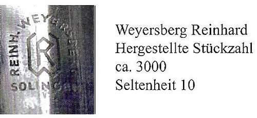 Reinh. Weyersberg dagger