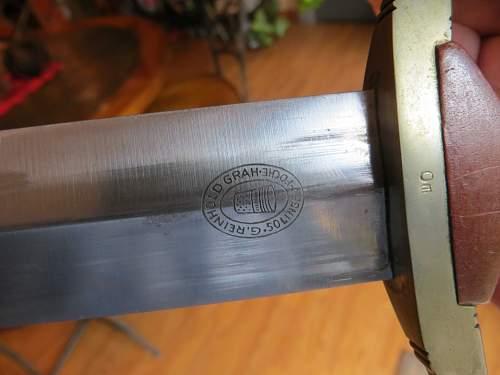 G. Reinhold Grah  SA dagger