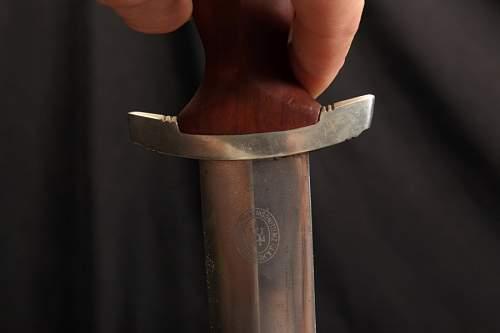 Sa dagger Henckels Full Rohm inscription pattern - ask for help