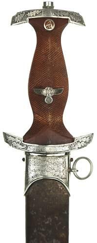 SA Honor Dagger...original?