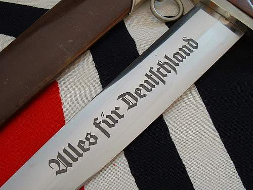 Early SA Dagger by Anton Wingen Jr