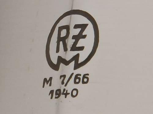 Thoughts - regarding this RZM M7/62/40 makers code