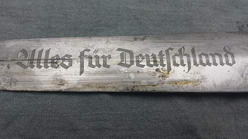 SA Dienstdolch RZM M7/12 (WFM Waffenfabrik Max Weyersberg)