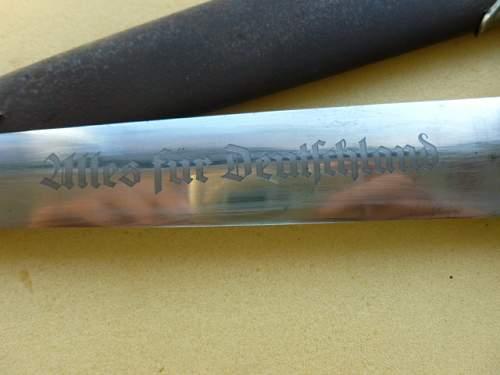 Early SA Rohm dagger?