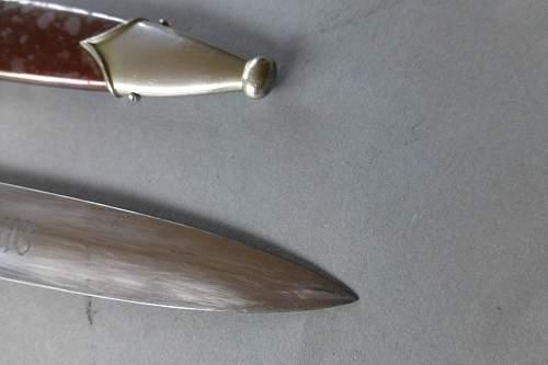 Early SA dagger by Haenel Suhl