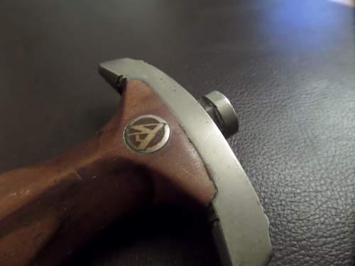 G Felix Porn pics of the SA dagger