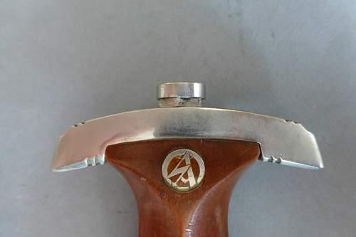 Early SA dagger by Henckels
