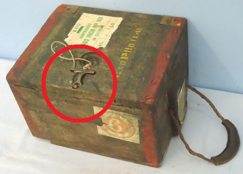 Curious item metal detected on ww2 site.