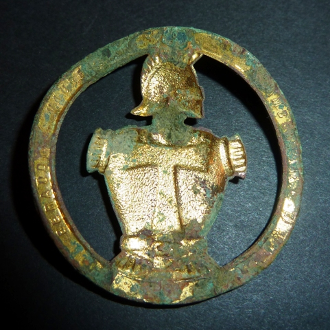 French Beret Engineer Badge