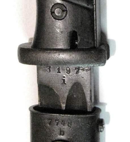 P.Weyersberg 1939 K98 Bayonet