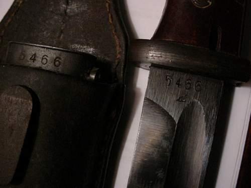 Two german bayonets,vet buy,clean them?