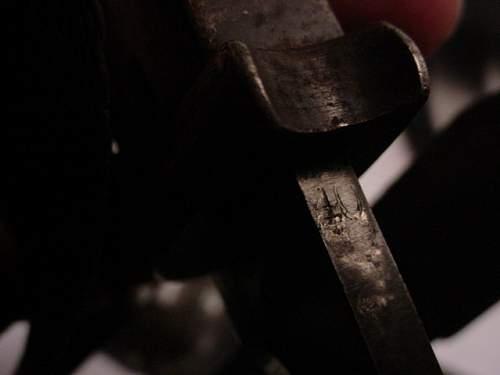 Combat used WKC 1940 bayonet