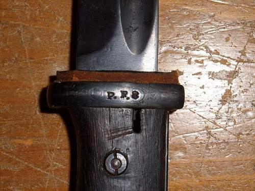 I need help identifying this bayonet.