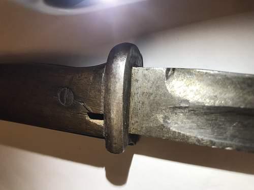 K98 bayonet Opinions