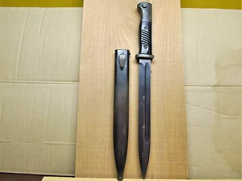 S/172 1940 K98 Bayonet
