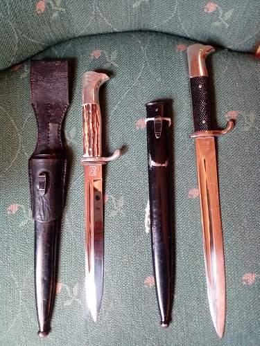KS98 Bayonets.