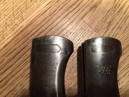 2 police acs bayonets