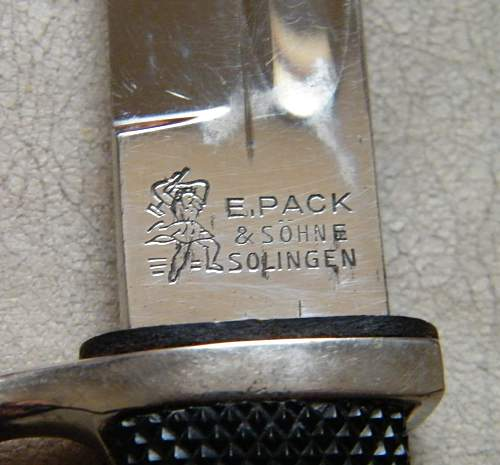 E PACK dress bayonet