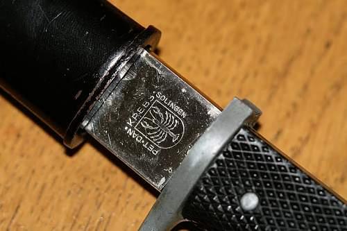 K98 short dress bajonet