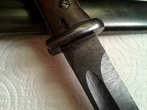 My crudest K98k bayonet