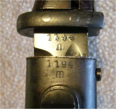 KM K98 bajonet