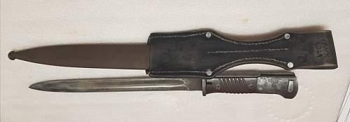 Fantasy 98K bayonet?
