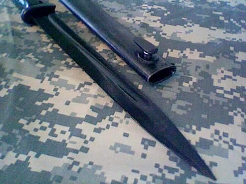K98k Bayonet- My First one!