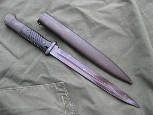 My new Elite Diamant Matching  Bayonet