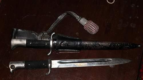 Parade bayonet help