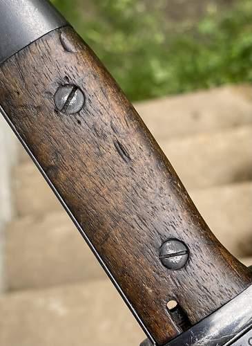 Matching 1936 K98 Bayonet
