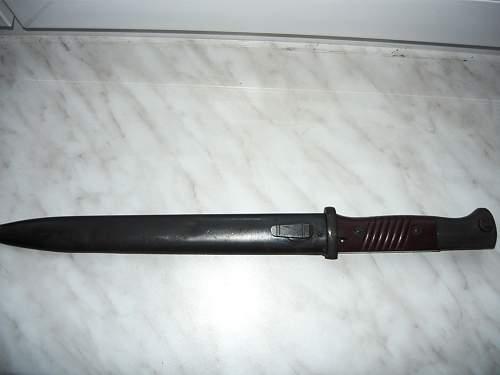 K98 bayonet WAA 519???