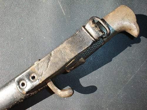 WWII German K98 Dress Bayonet