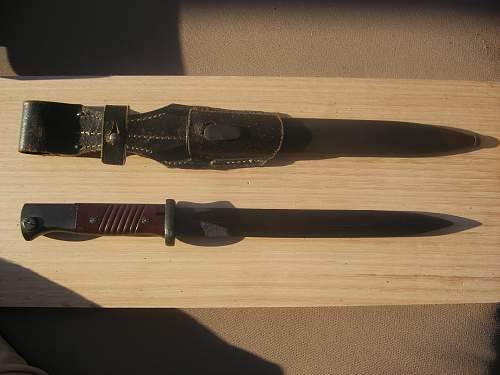 New K98 Combat Bayonet