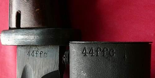 Mint ffc44 d block bayonet