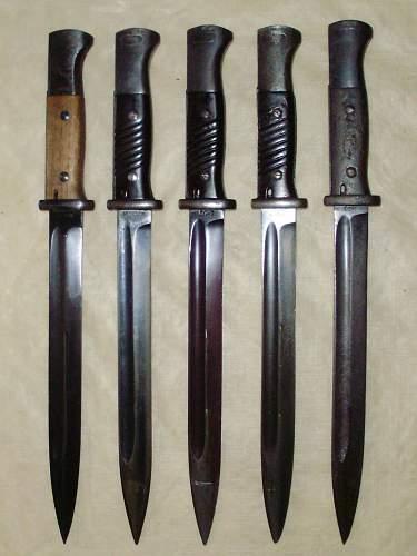 K98 Seitengewehr ( K98 Bayonets )