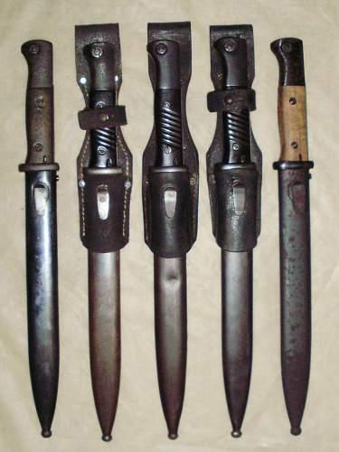 Bayonet 98K.