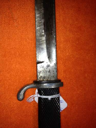 OPINIONS on this SS Bayonet