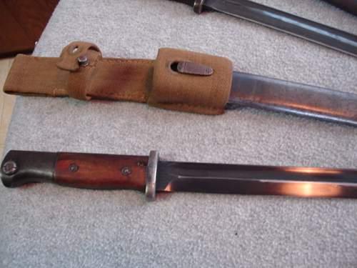 Dak bayonet