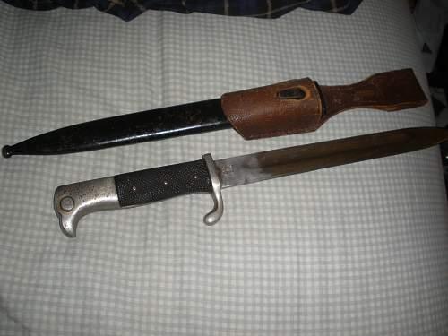 Parade bayonet